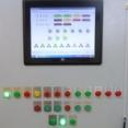 Лицевая панель шкафа управления